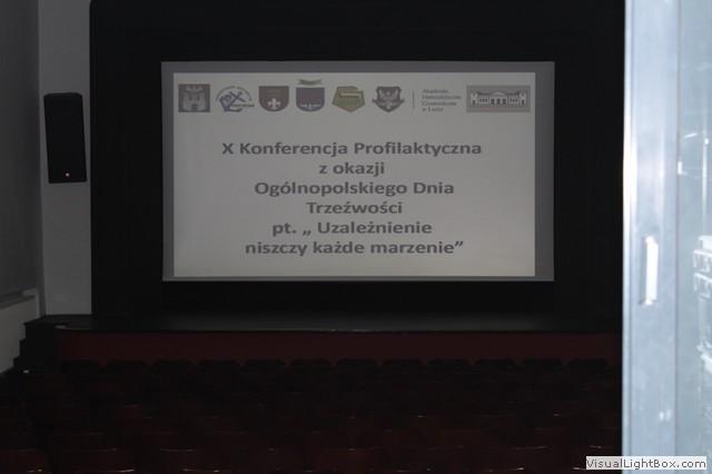 Konferencja Profilaktyczna wSieradzu Ogólnopolski Dzień Trzeźwości