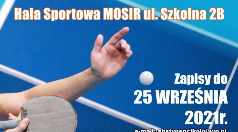 VI Mistrzostwa Polski w Tenisie stołowym Stowarzyszeń i Klubów Abstynenckich dla Amatorów